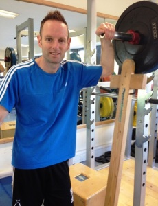 andy hunt physiotherapist at physical solutions