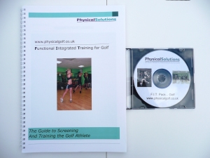 golf exercise and screening manual pack