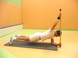 stick 500 core stability exercise