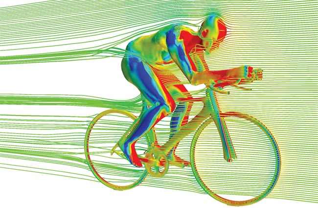 aero position cycling